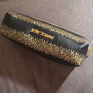 Betsey Johnson pencil case makeup bag